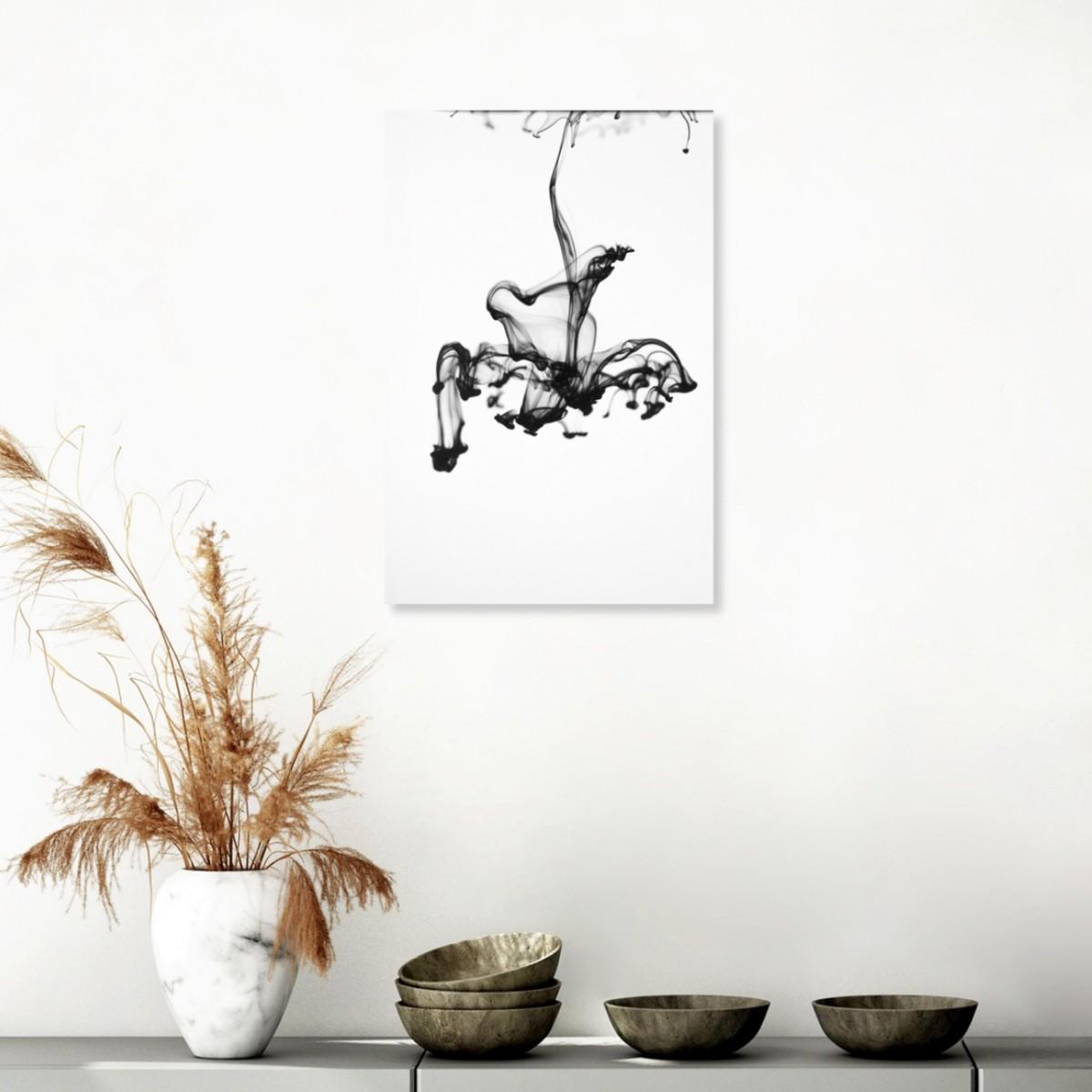 """nahili POSTER / ARTPRINT """"SLOW movement"""" (DIN A1/A3 & 50x70cm) schwarz weiß Fotografie"""