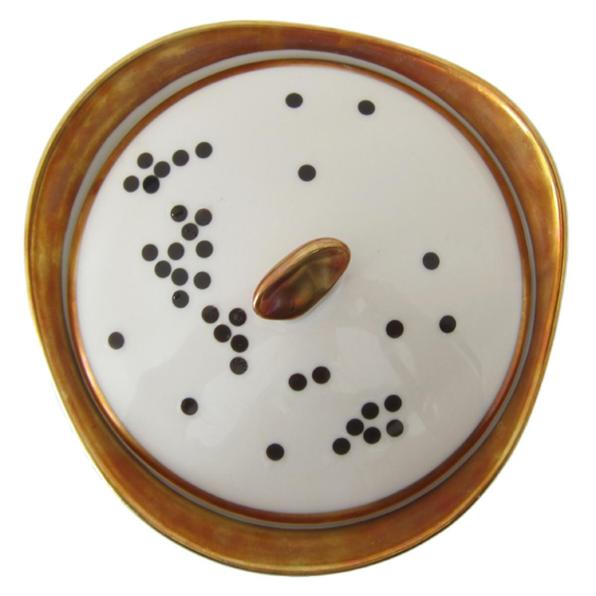 nuukk Schwarze Punkte Porzellansticker