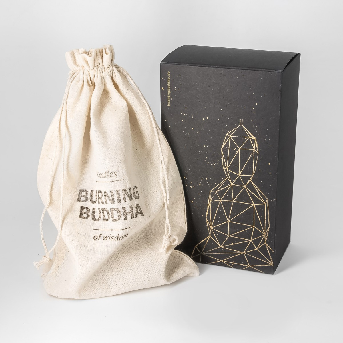 Buddha Kerze - Mint