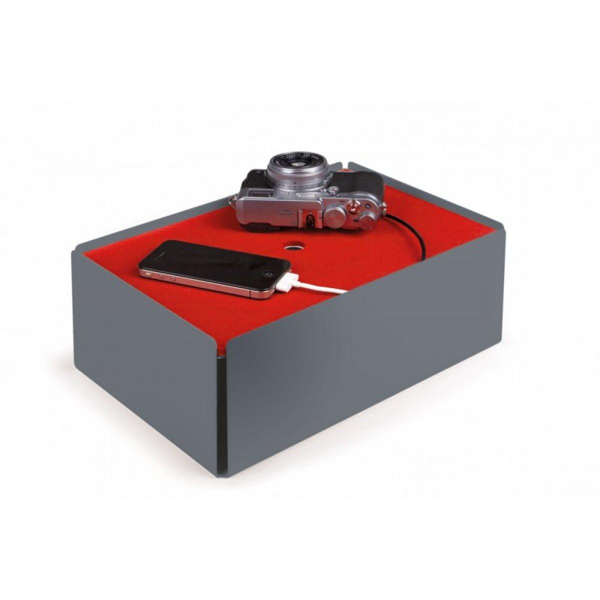 Konstantin Slawinski CHARGE-BOX Kabelbox (fehgrau)
