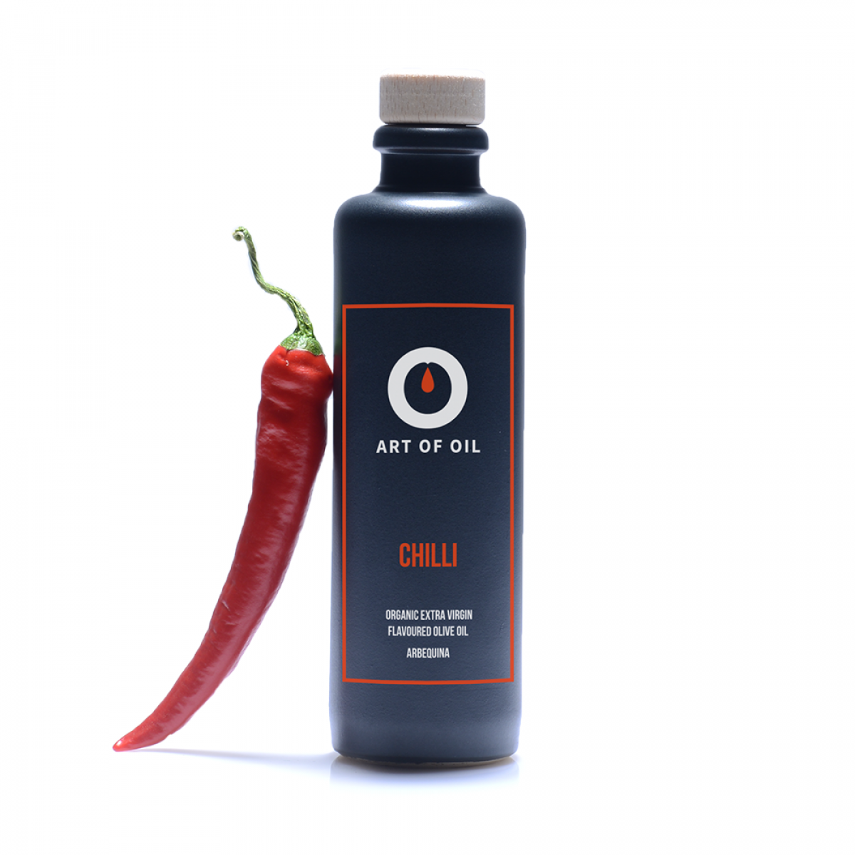 ART OF OIL Biologisches Extra Virgin Olivenöl - Chilli (200ml)