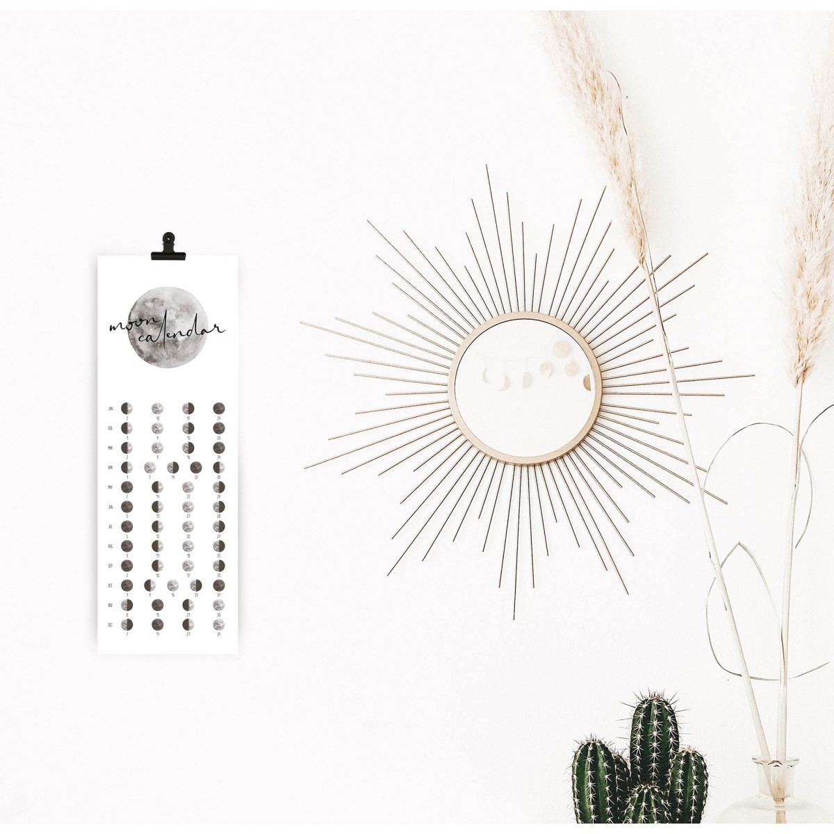 Kruth Design MOND KALENDER 2020 / CLASSIC