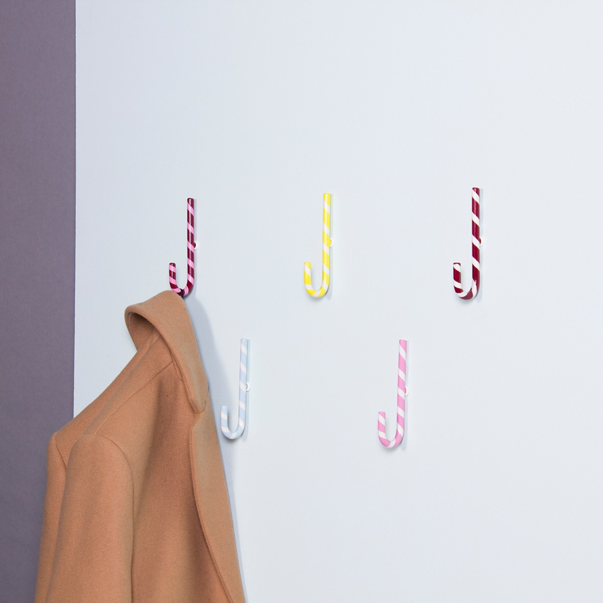 Candy Company Zuckerstangen Garderobenhaken