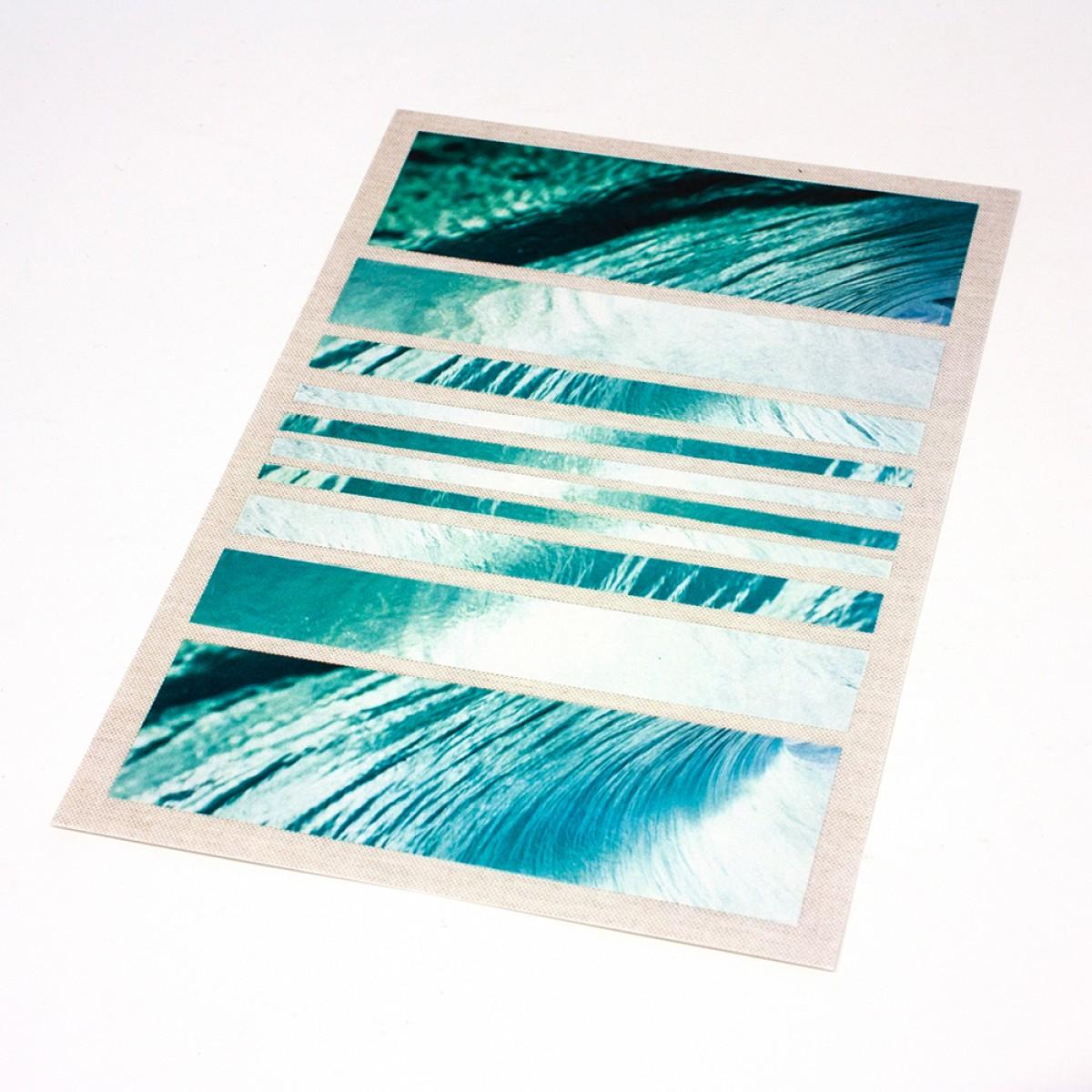 """""""Catch A Wave"""" –Fine Art Print (DIN A5) im Passepartout"""