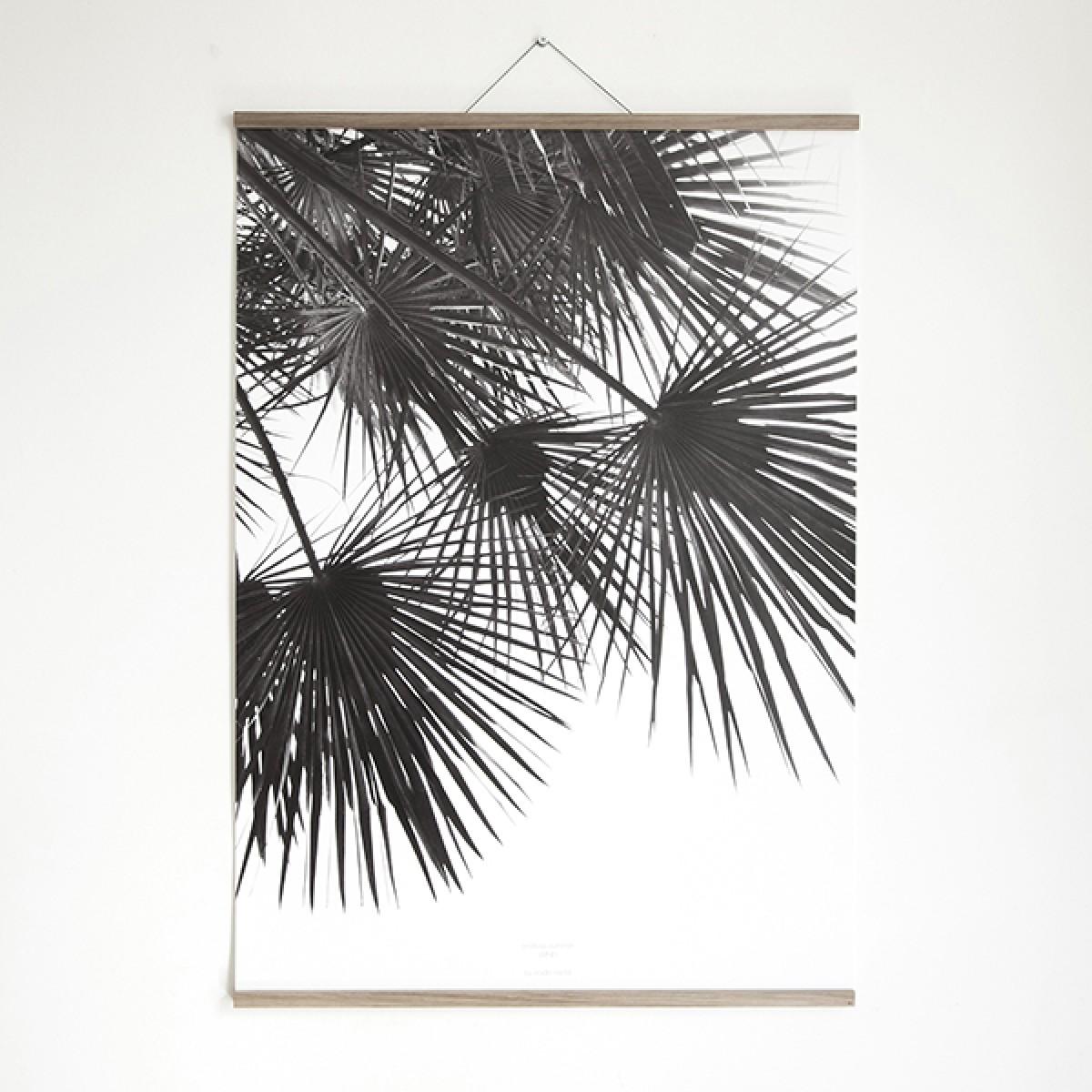 Artprint inkl. magnetischer Posterleiste A4, Click - On - Frame, Rahmen