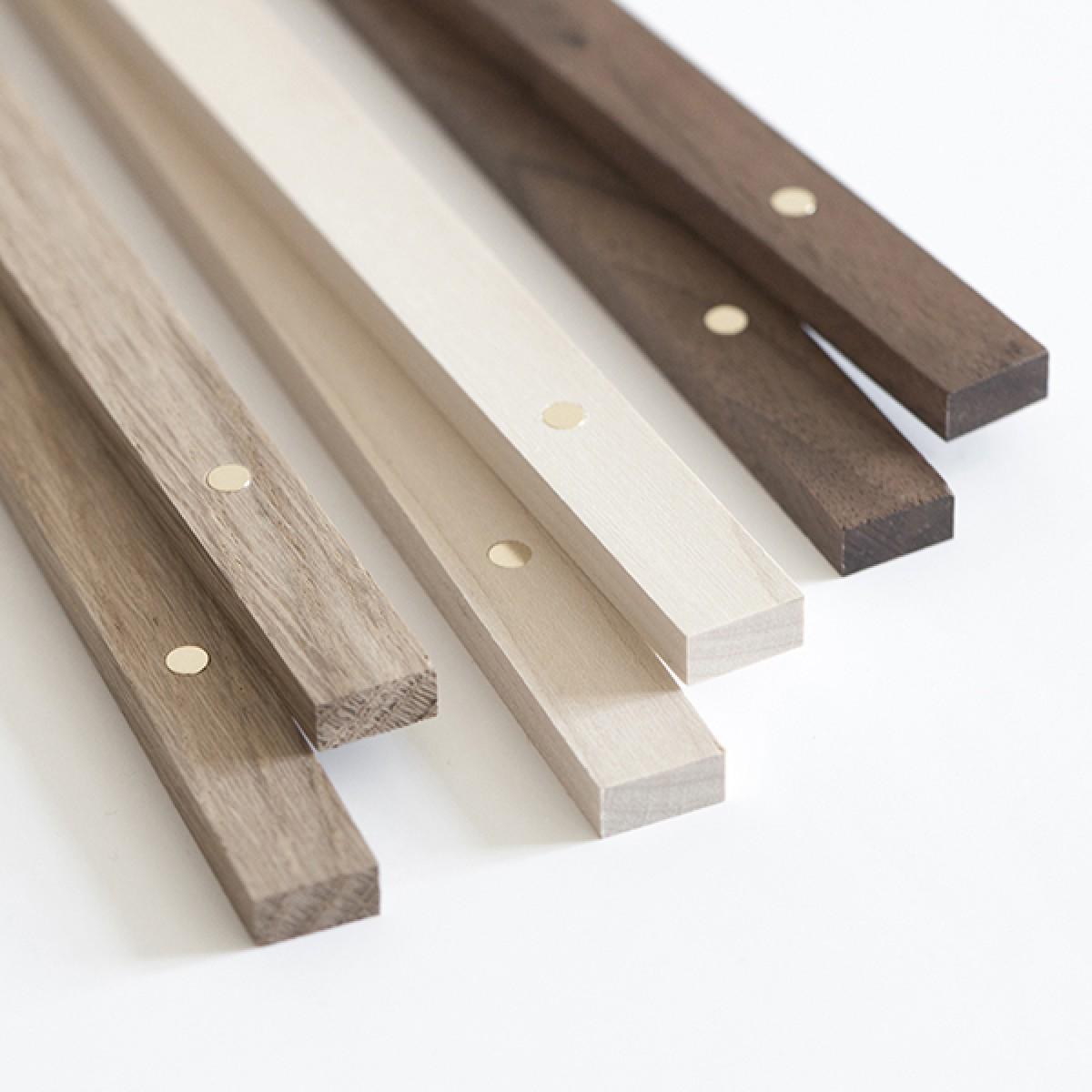 magnetische Posterleiste A1, Eco Click - On - Frame, Rahmen (inkl. Artprint) Holzrahmen in Ahorn, Walnuss, Eiche - Ökologische + faire Herstellung