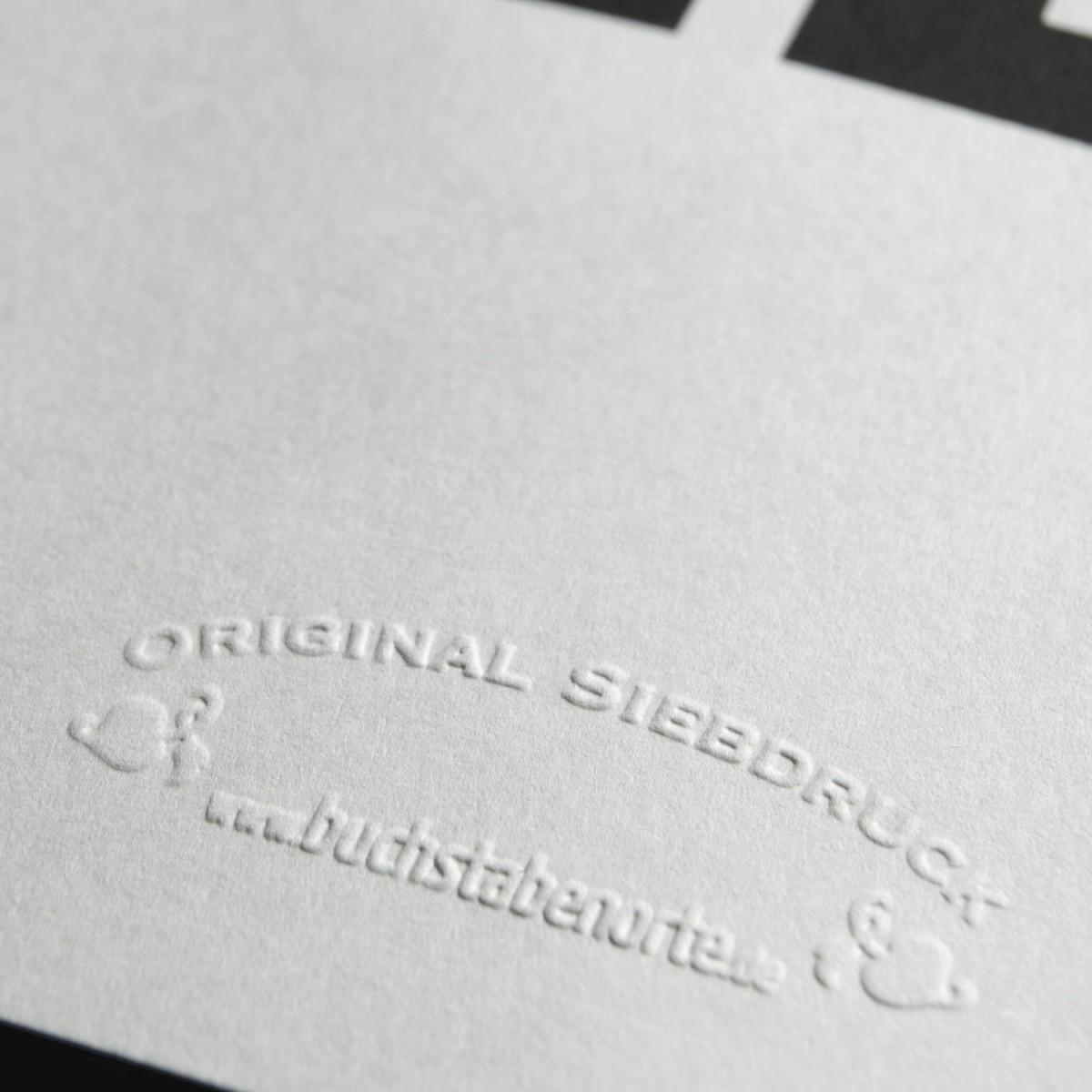 Buchstabenort Düsseldorf Poster Typografie Siebdruck