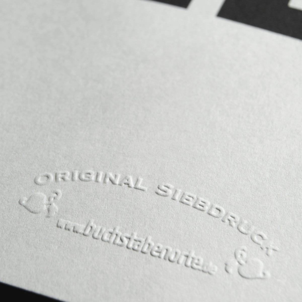 Buchstabenort Karlsruhe Stadtteile-Poster Typografie