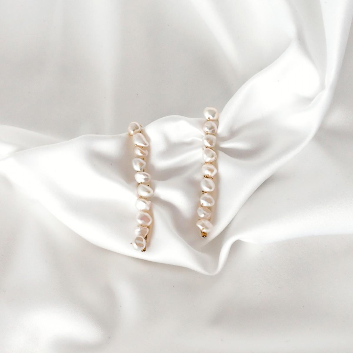 ST'ATOUR DIMA MAXI - Haarklemmen mit Perlen