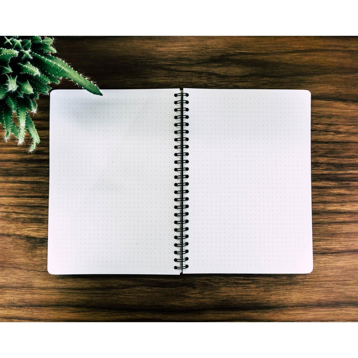 Notizbuch, WoodBook, Padouk