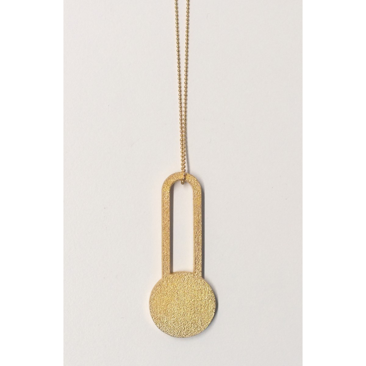 theobalt.design DOT necklace gold