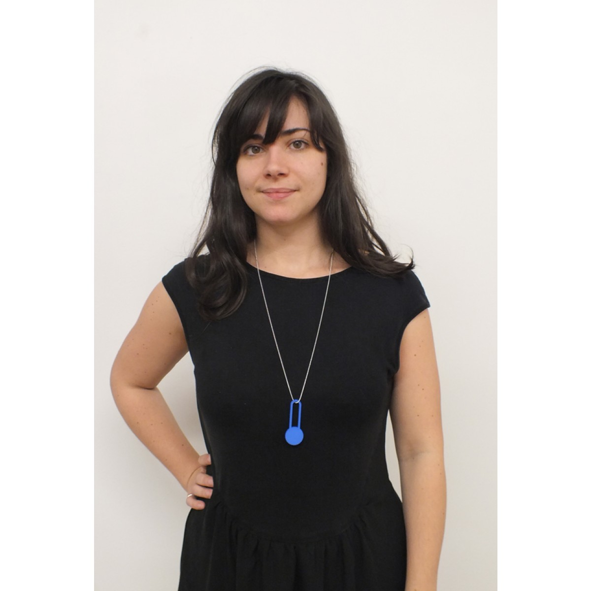 theobalt.design DOT necklace blue