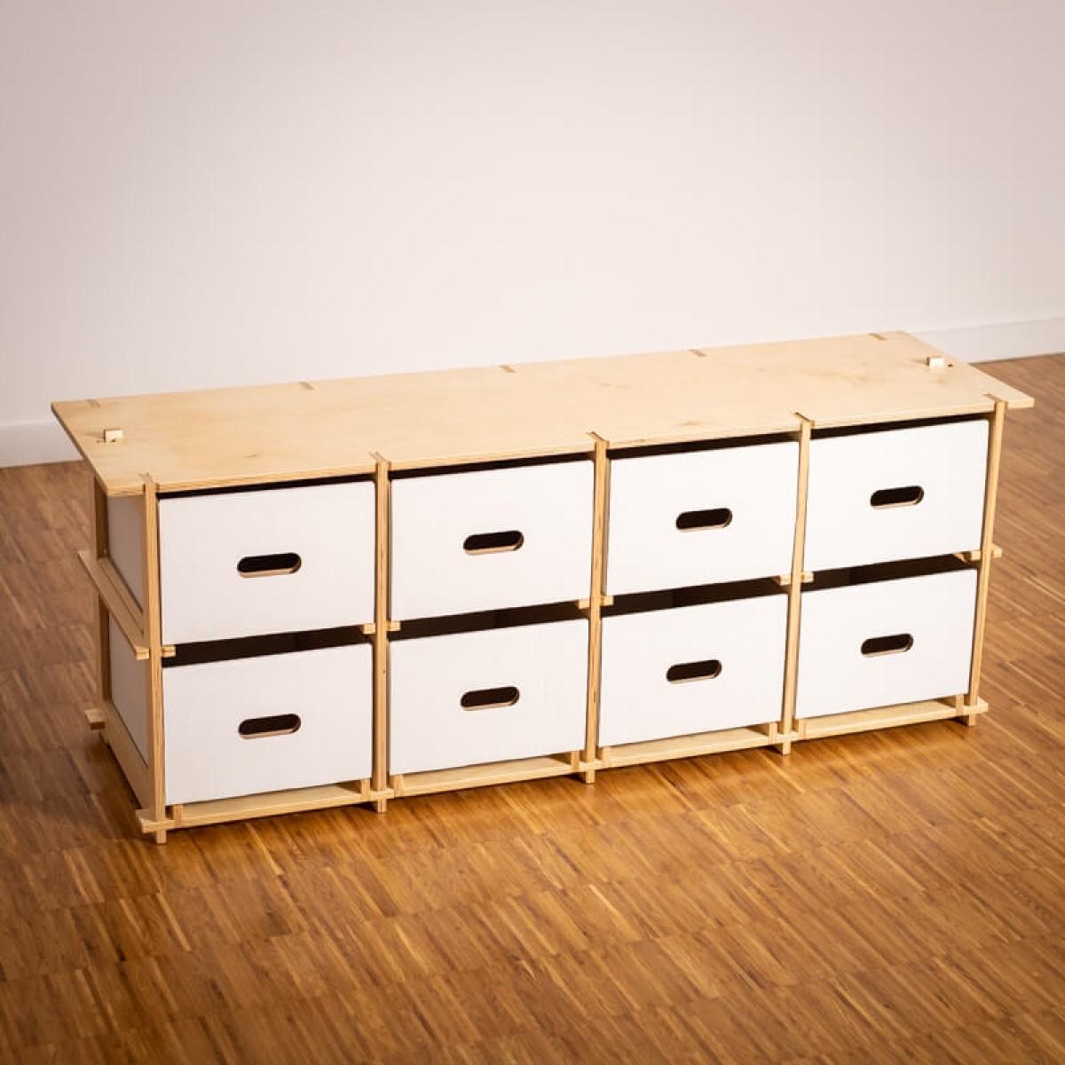 16boxes - Fourbytwo (4x2) - Sitzbank