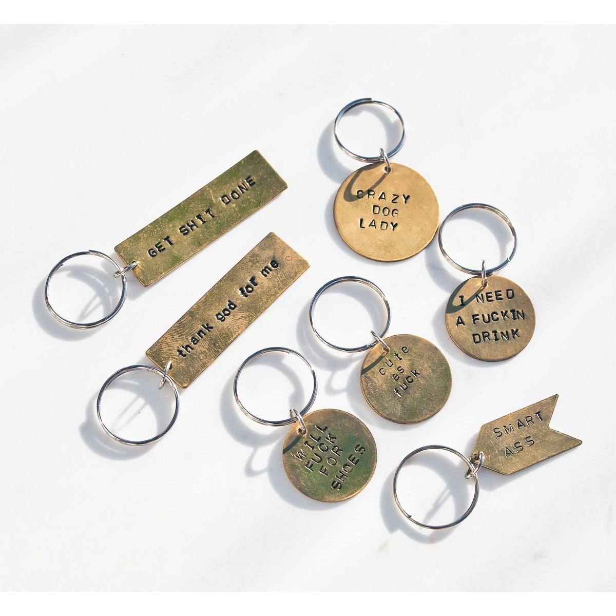 iloveblossom NAUGHTY BUT NICE Schlüsselanhänger // Mix