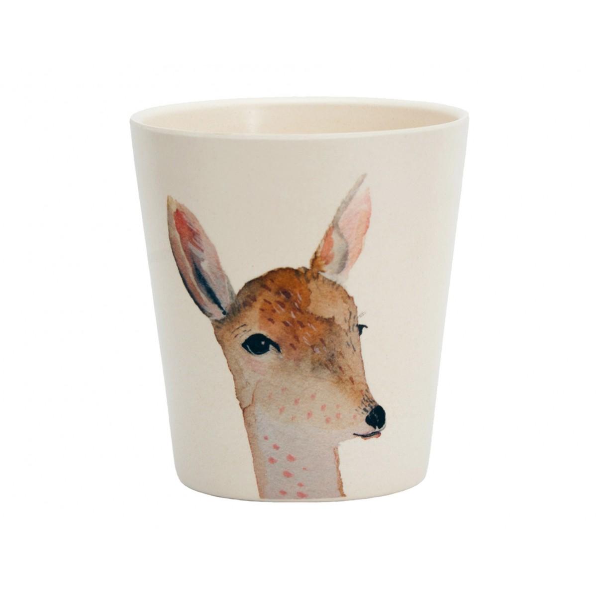 nuukk – Bambus Becher Reh & Antilope