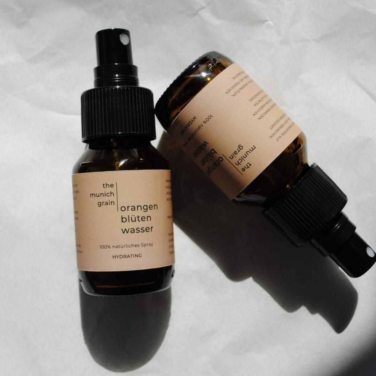Face Spray Orangenblütenwasser von the munich grain