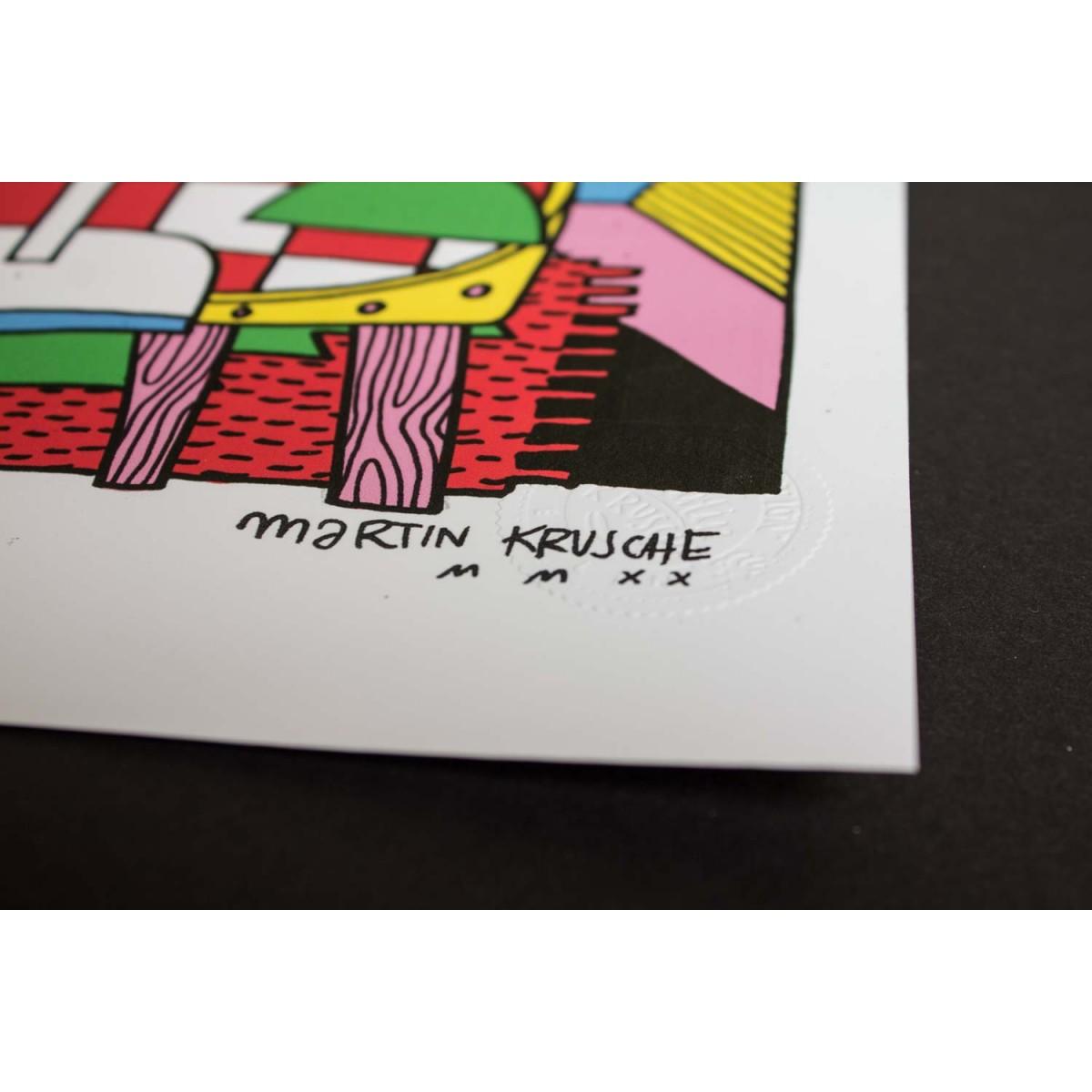 Martin Krusche - Poster »Dimension5« 50x70cm