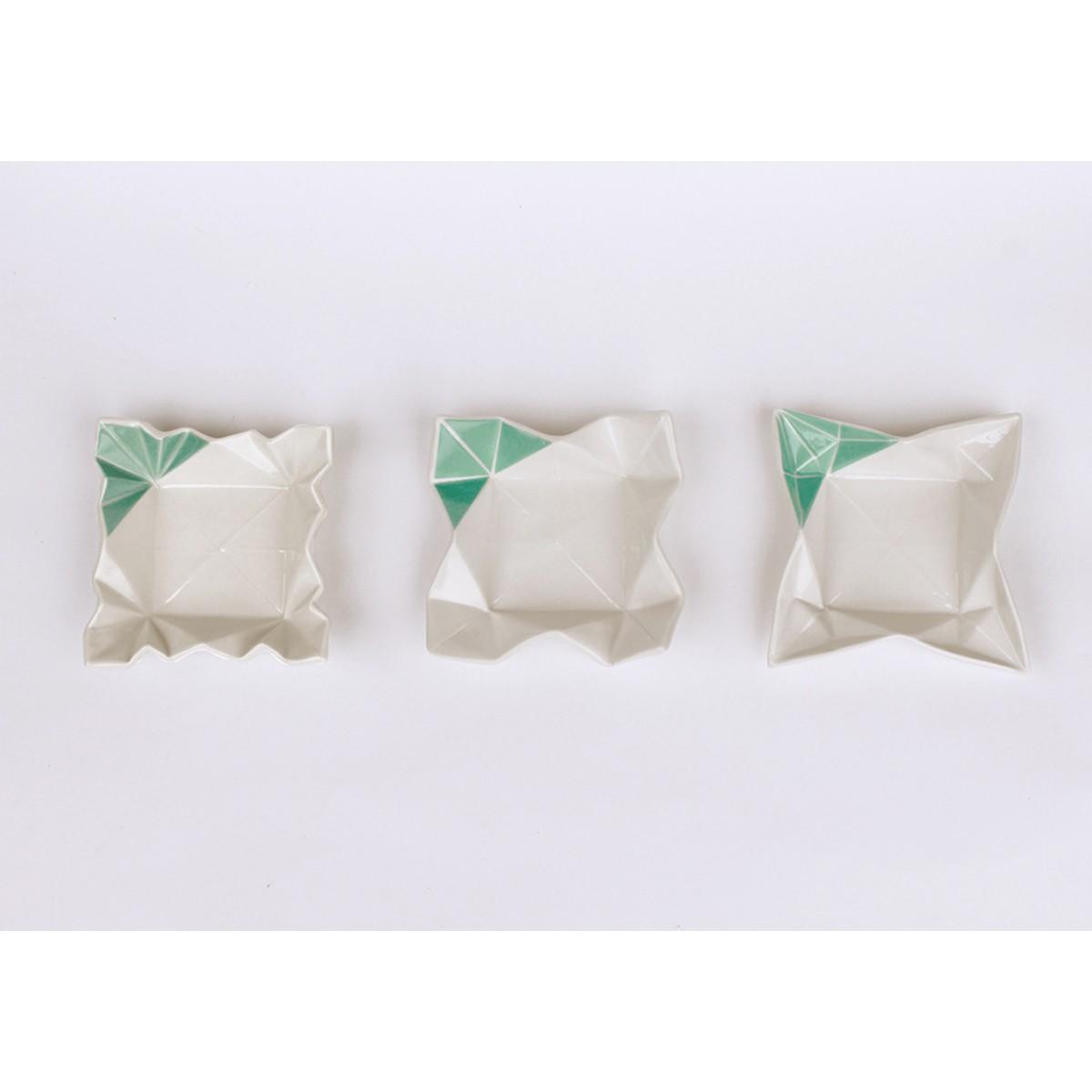 moij design Origami Dipschalen farbig