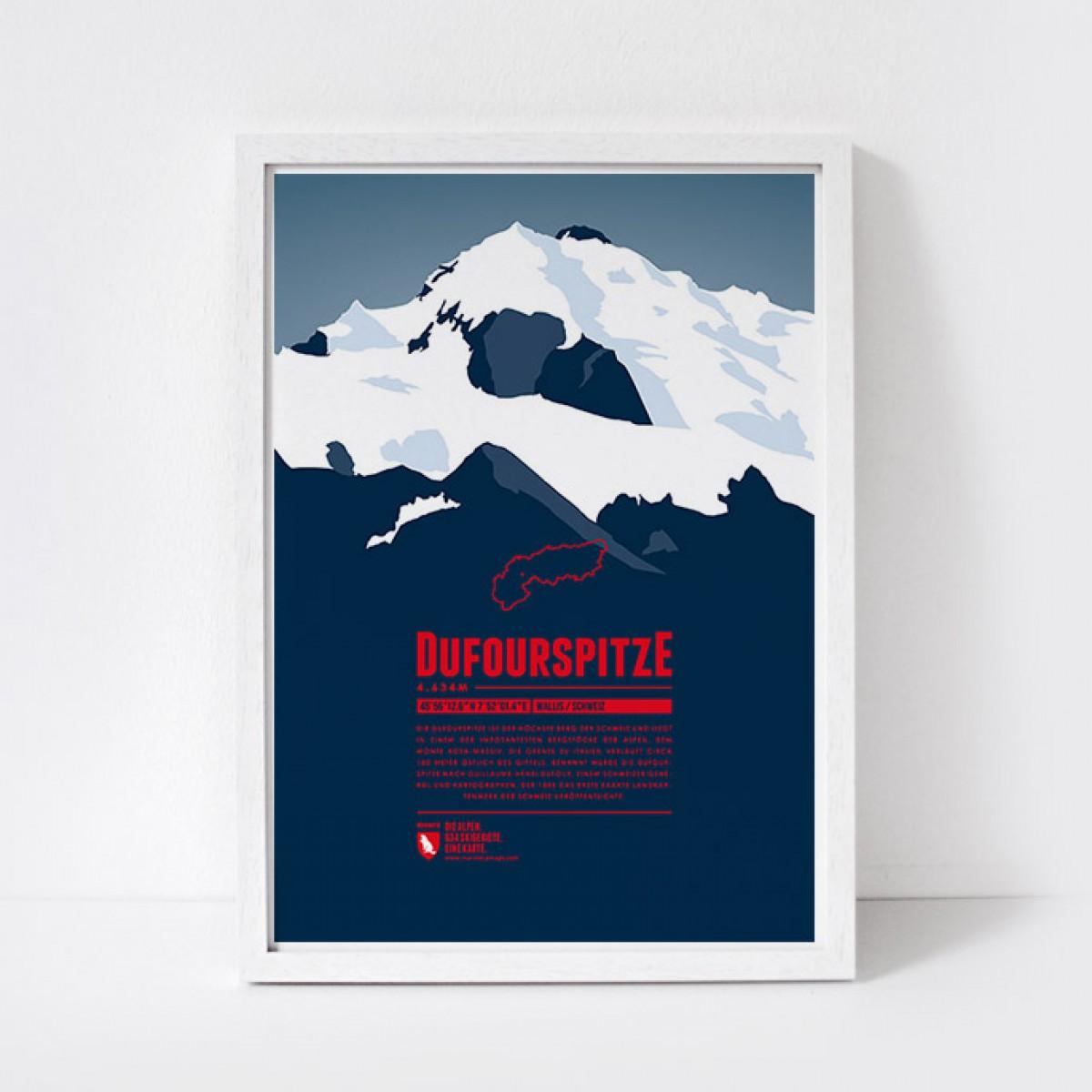 Marmota Maps – Dufourspitze - Bergdruck