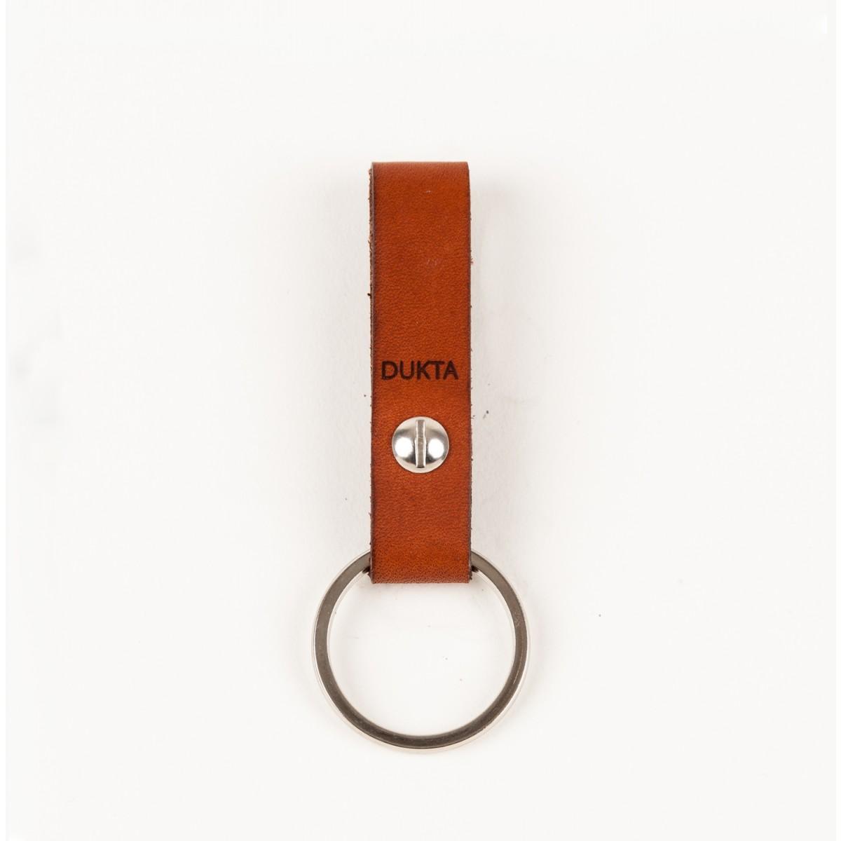 Schlüsselanhänger klein cognac