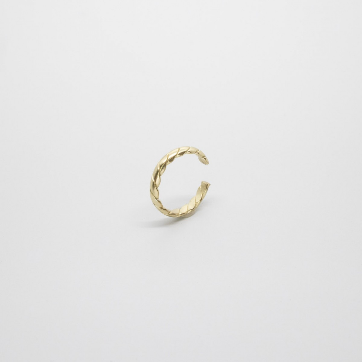 fejn jewelry - Braided Ear Cuff (einzeln)