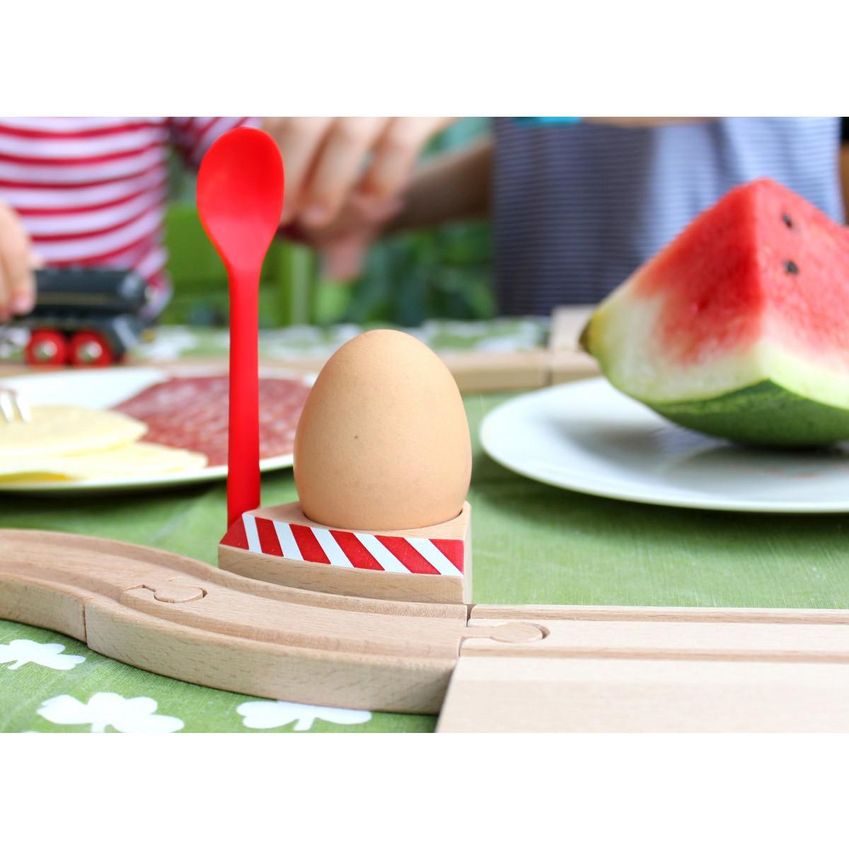 Eierbecher mit Schranke