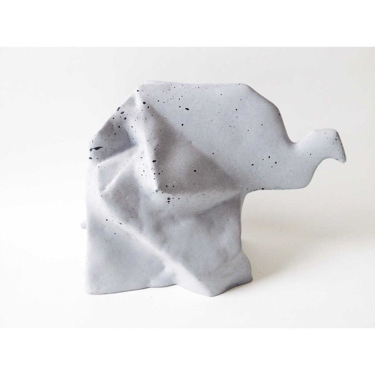 moij design Origami Elefant aus Beton