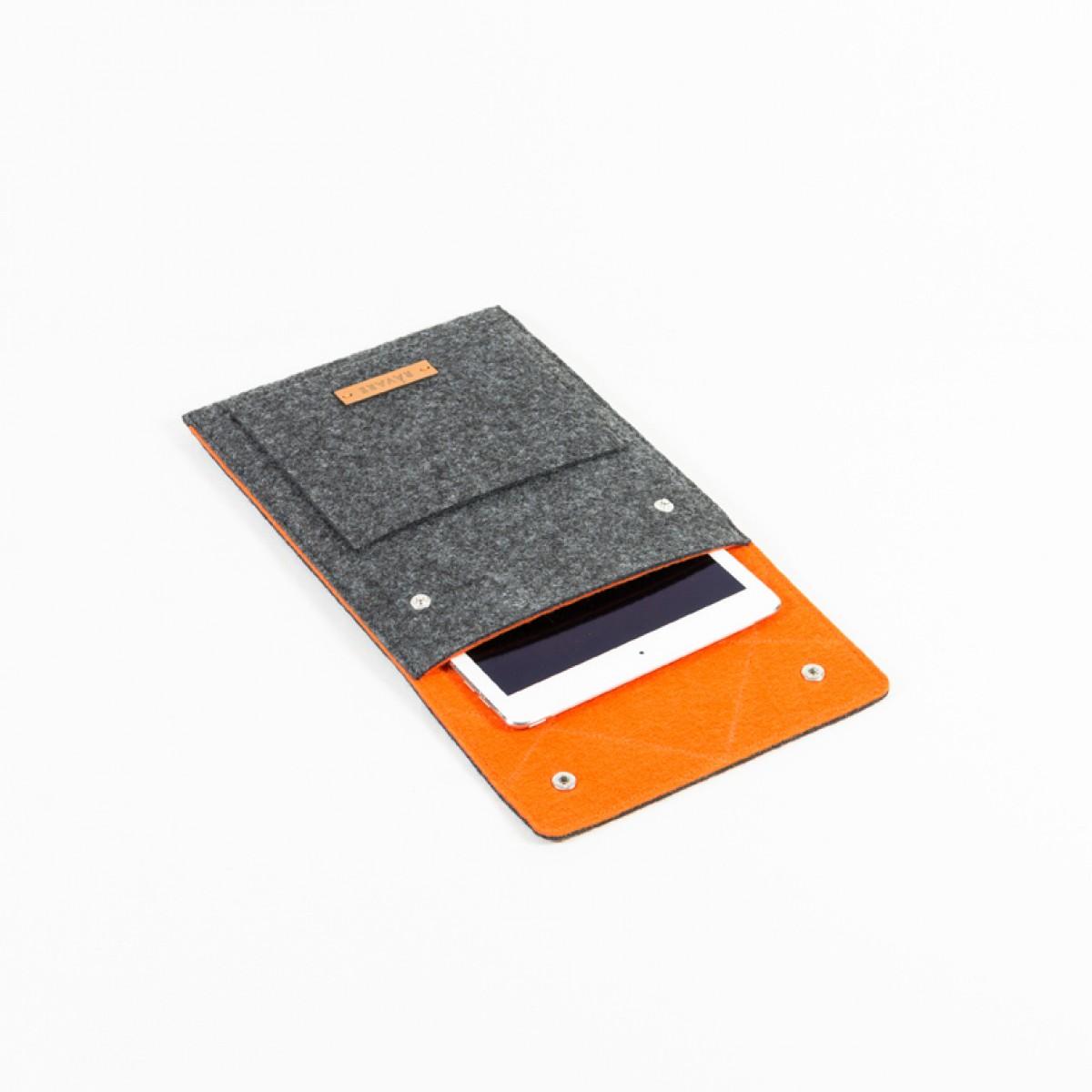 RÅVARE Tablet Sleeve Case Hülle mit Druckknöpfen für verschiedene Modelle in Größe S und in verschiedenen Farben [ENNO S]