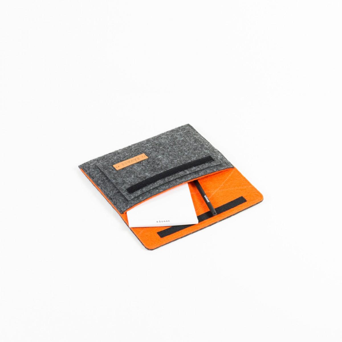 RÅVARE Tablet Sleeve Case Hülle mit Klettlasche für verschiedene Modelle in Größe XS und in verschiedenen Farben [ESMA XS]
