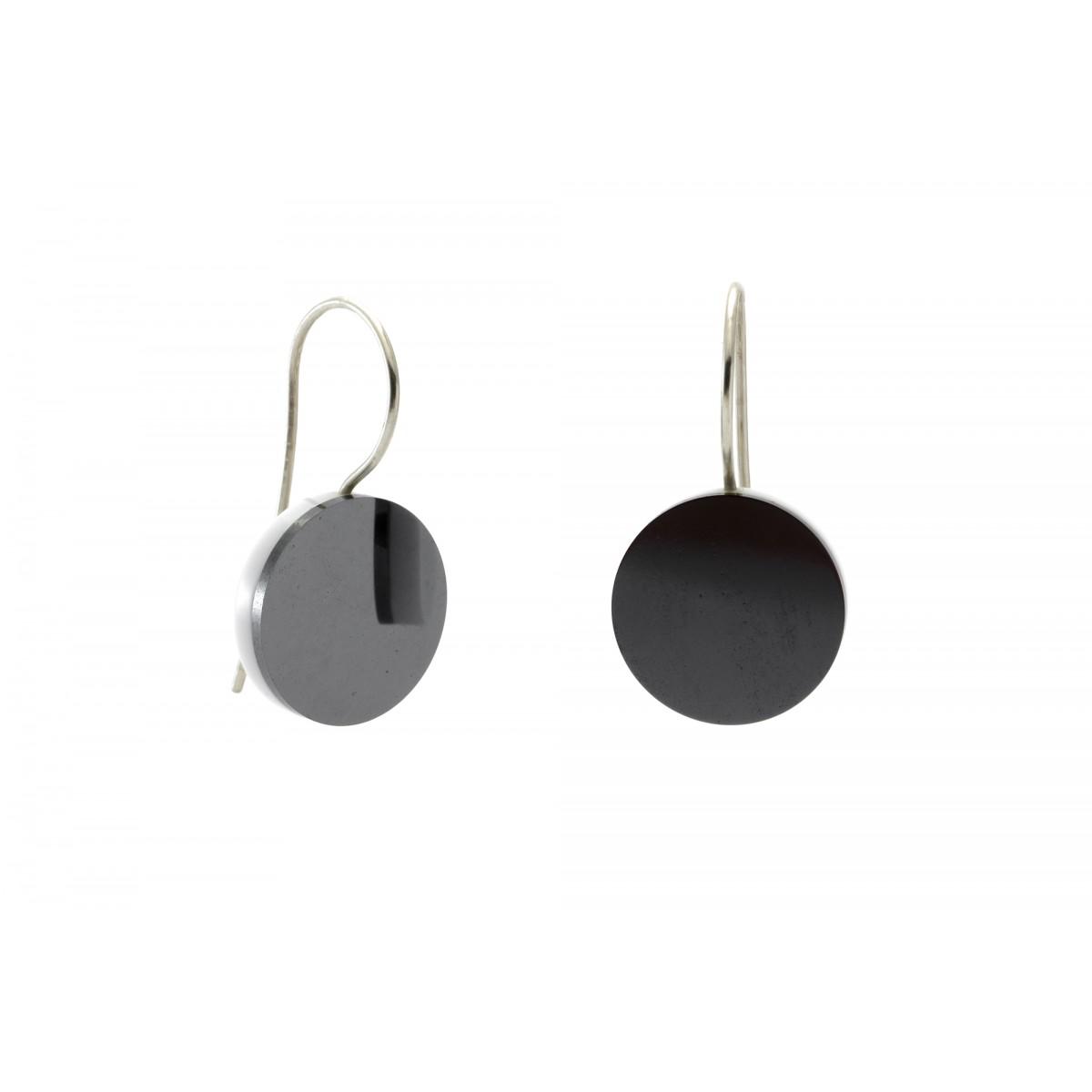 """Eva Slotta Jewellery """"Tint Deep"""" Ohrringe mit Hämatit, 925 Silber"""