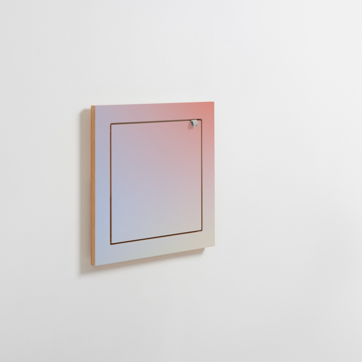 AMBIVALENZ Fläpps Regal 40x40-1 – Sunrise by Joa Herrenknecht