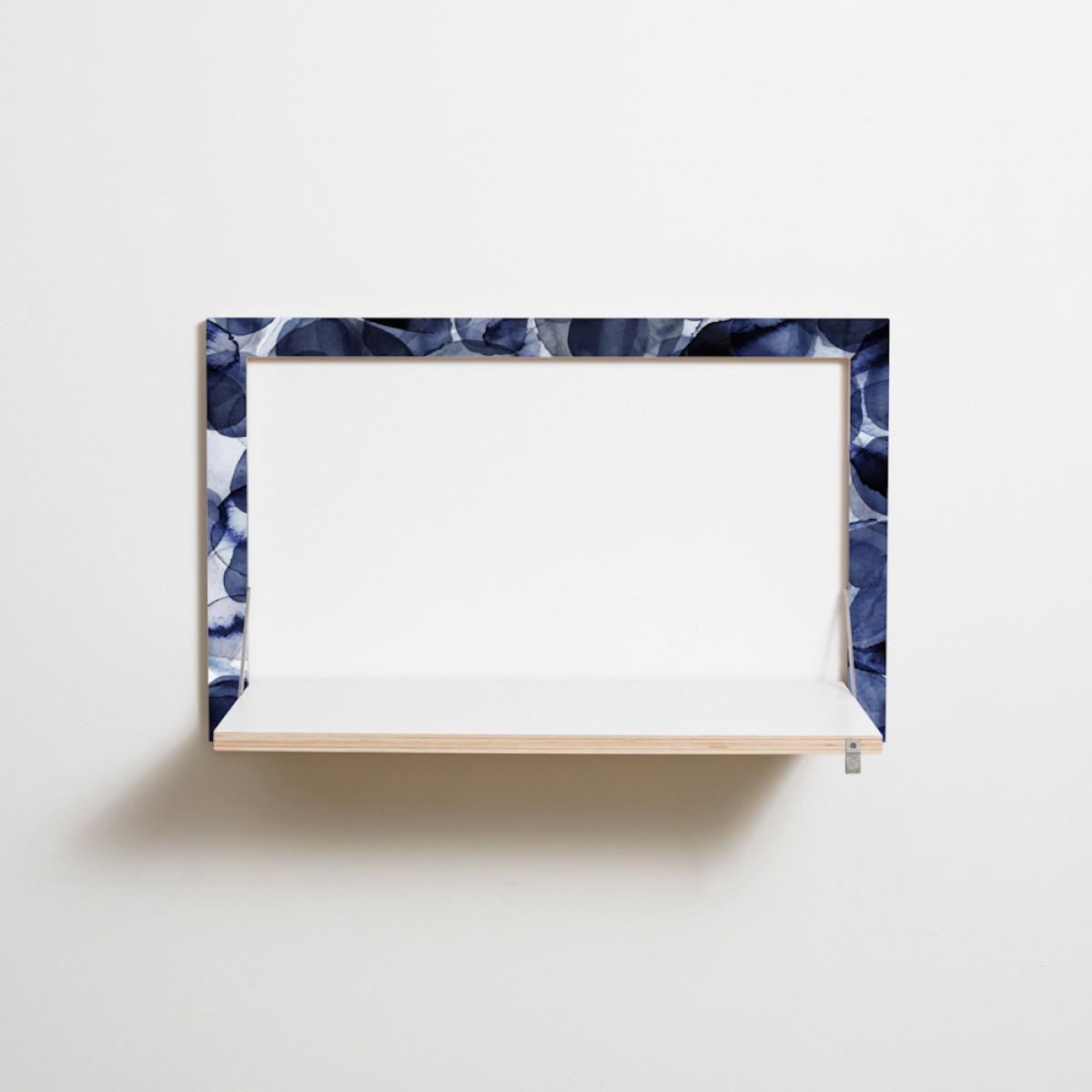 Fläpps Sekretär/in – Bubbles Indigo by Pattern Studio