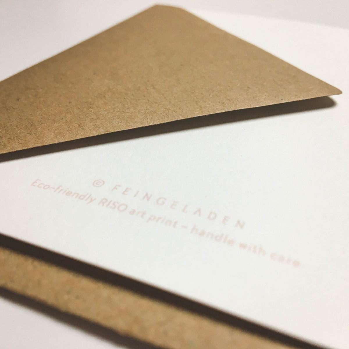 Feingeladen // KARAOKE INSPIRED // Enjoy the sheer Silence (BQ) Klappkarte, A6