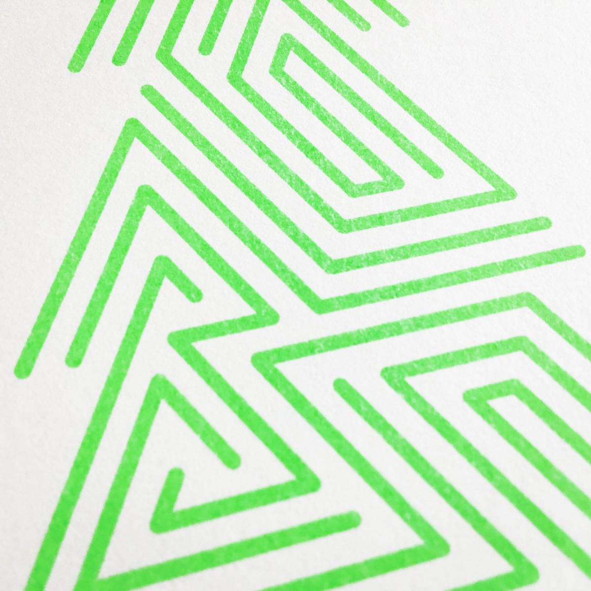 Feingeladen // LINE ART // Tree (FG) Kunstdruck, A5