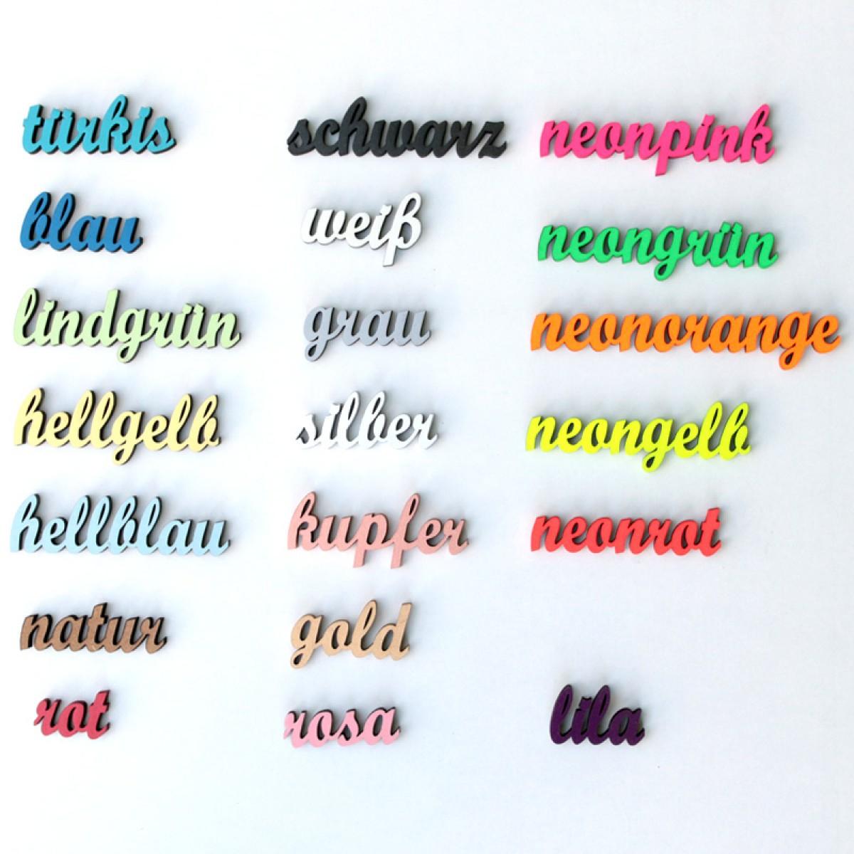 NOGALLERY Ahoi - Deko Schriftzug Holz