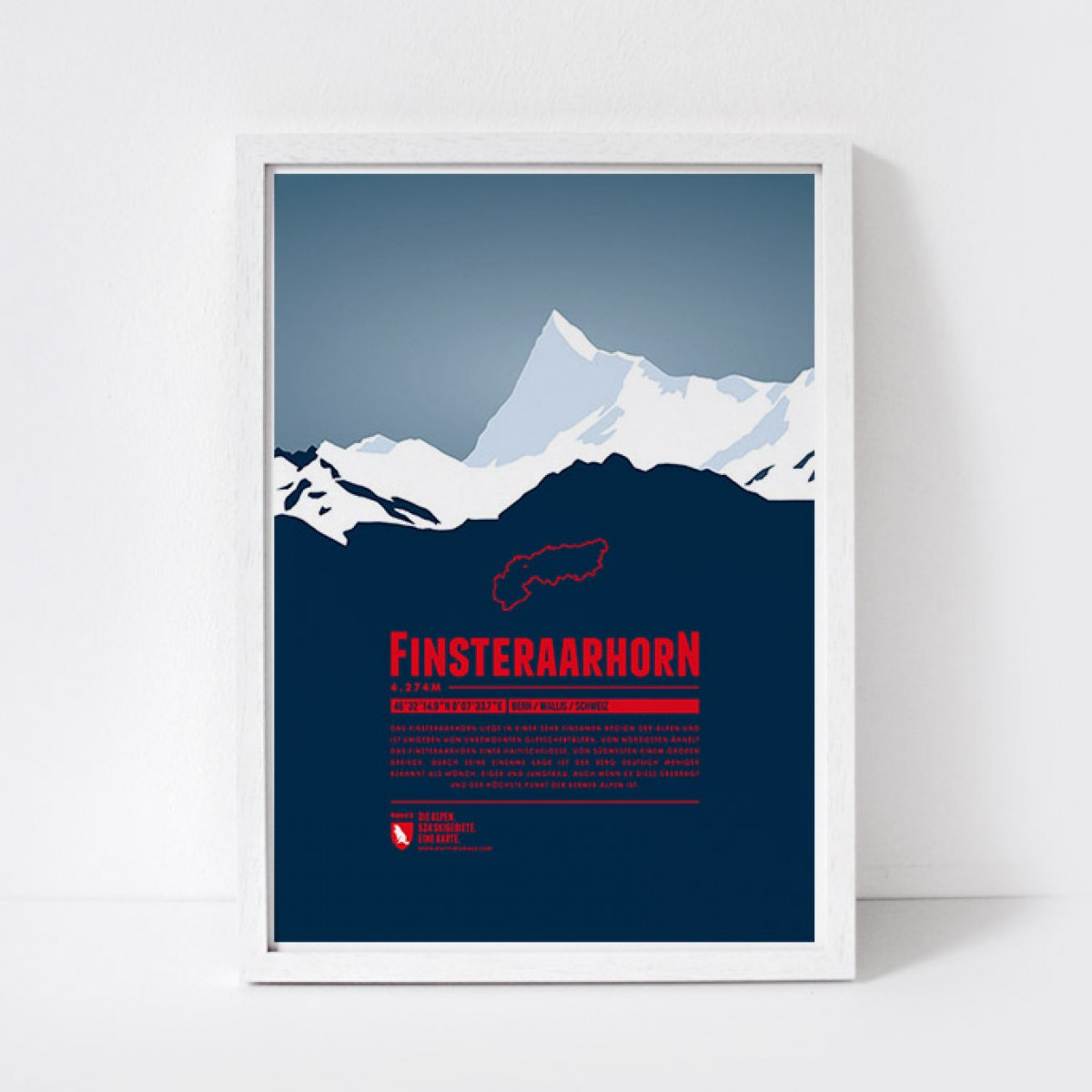 Marmota Maps – Finsteraarhorn - Bergdruck