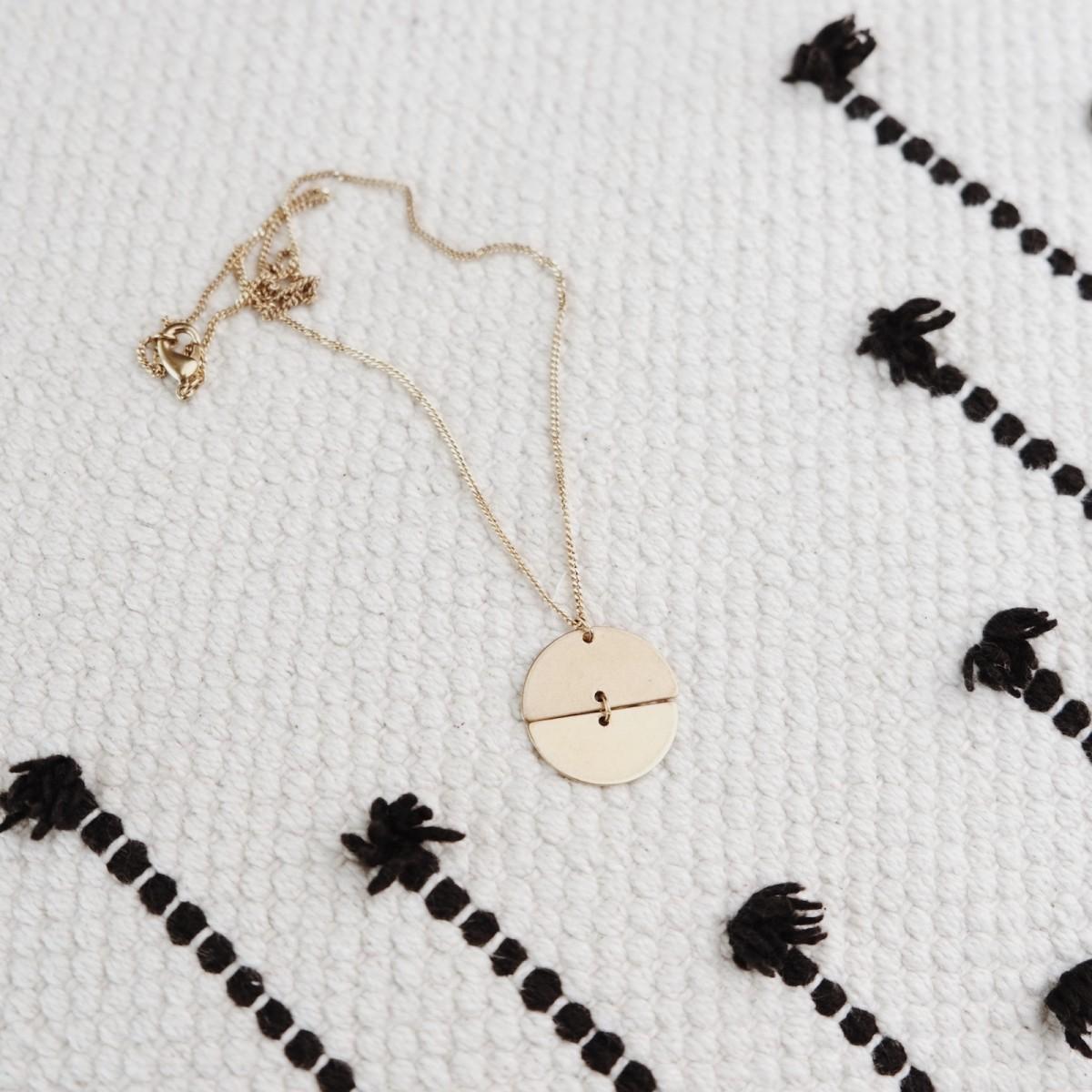 BRASSCAKE // Jupiter Necklace