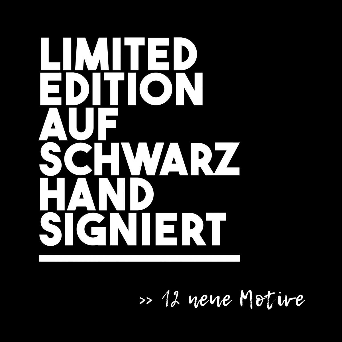 FrankfurterBubb SO OVERFORDERT Limited Edition  schwarz-weiß Foto-Kachel