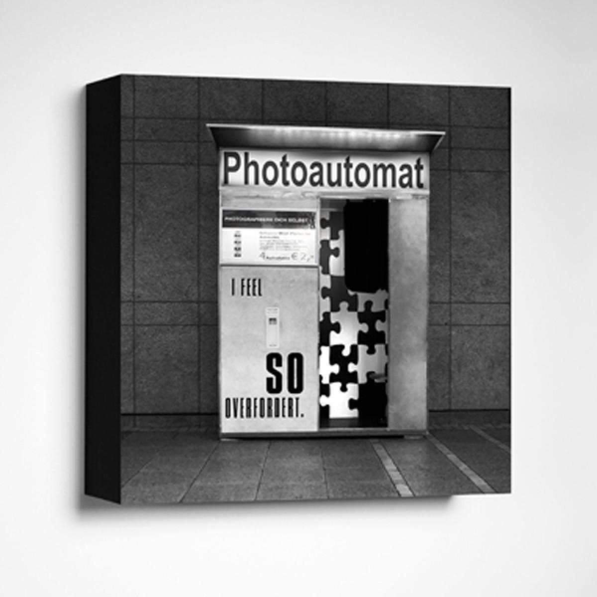 FrankfurterBubbSO OVERFORDERTLimited Edition schwarz-weißFoto-Kachel
