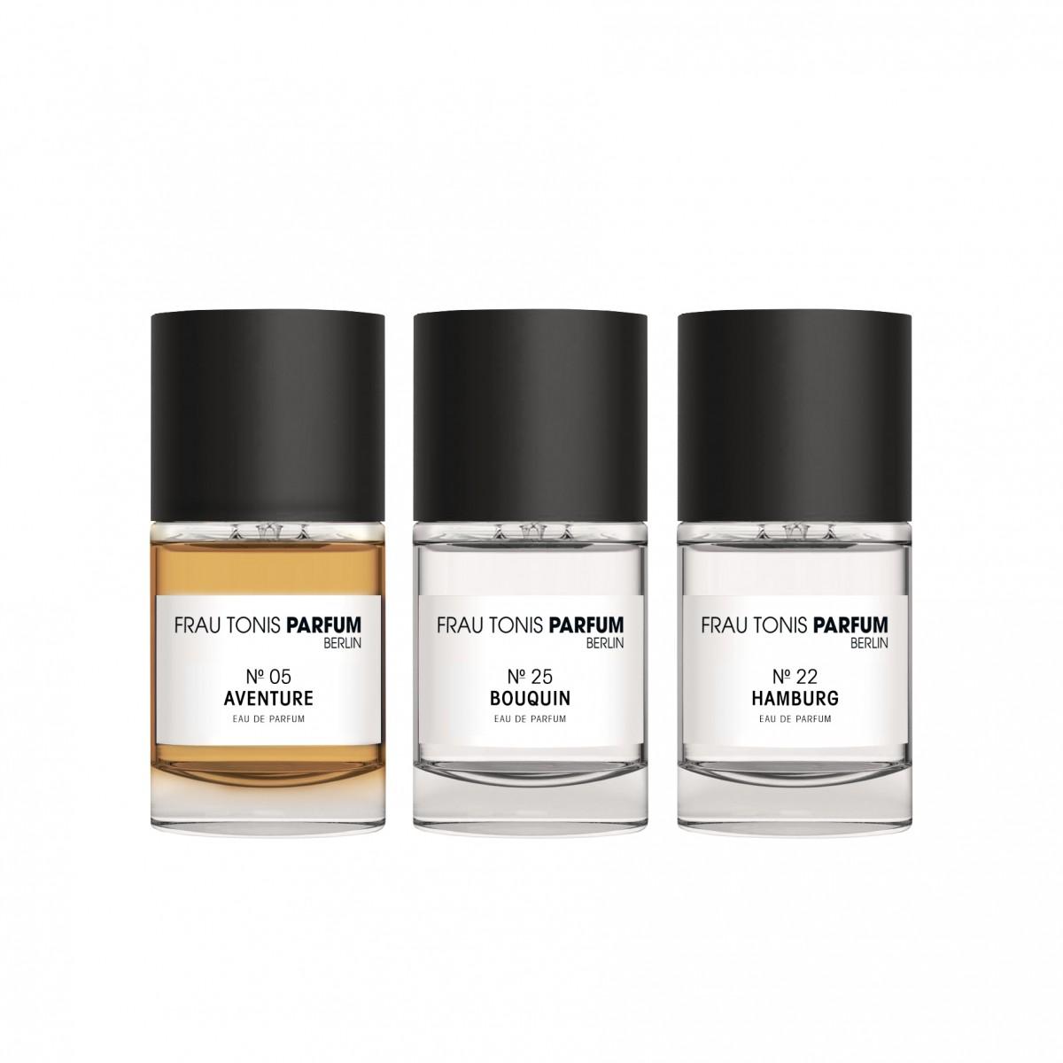 Duft-Box Gentlemen (3 x 15 ml) by Frau Tonis Parfum