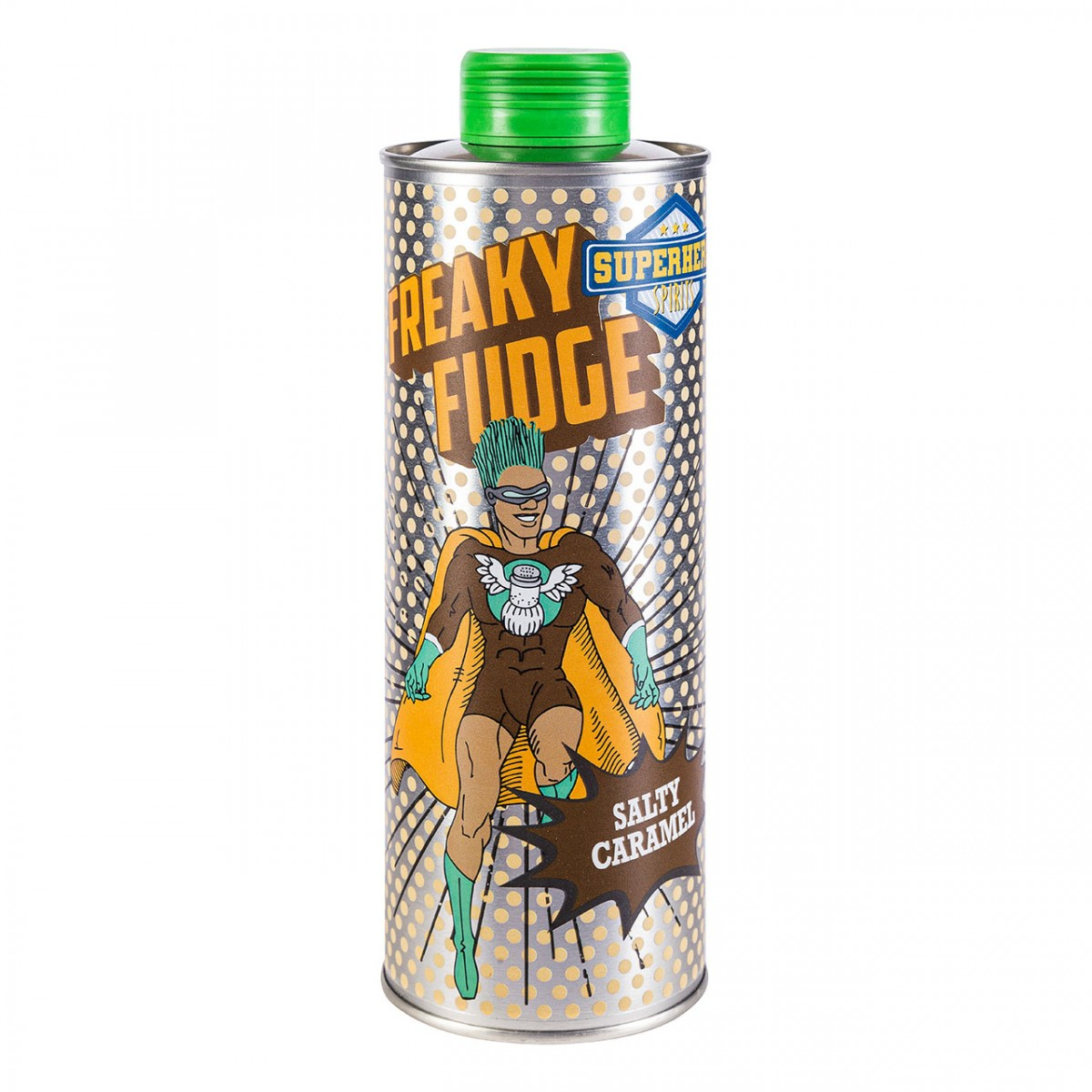 Freaky Fudge - Karamell-Salz Likör - Superhero Spirits - 0,5 l - 40 % vol. Alk.