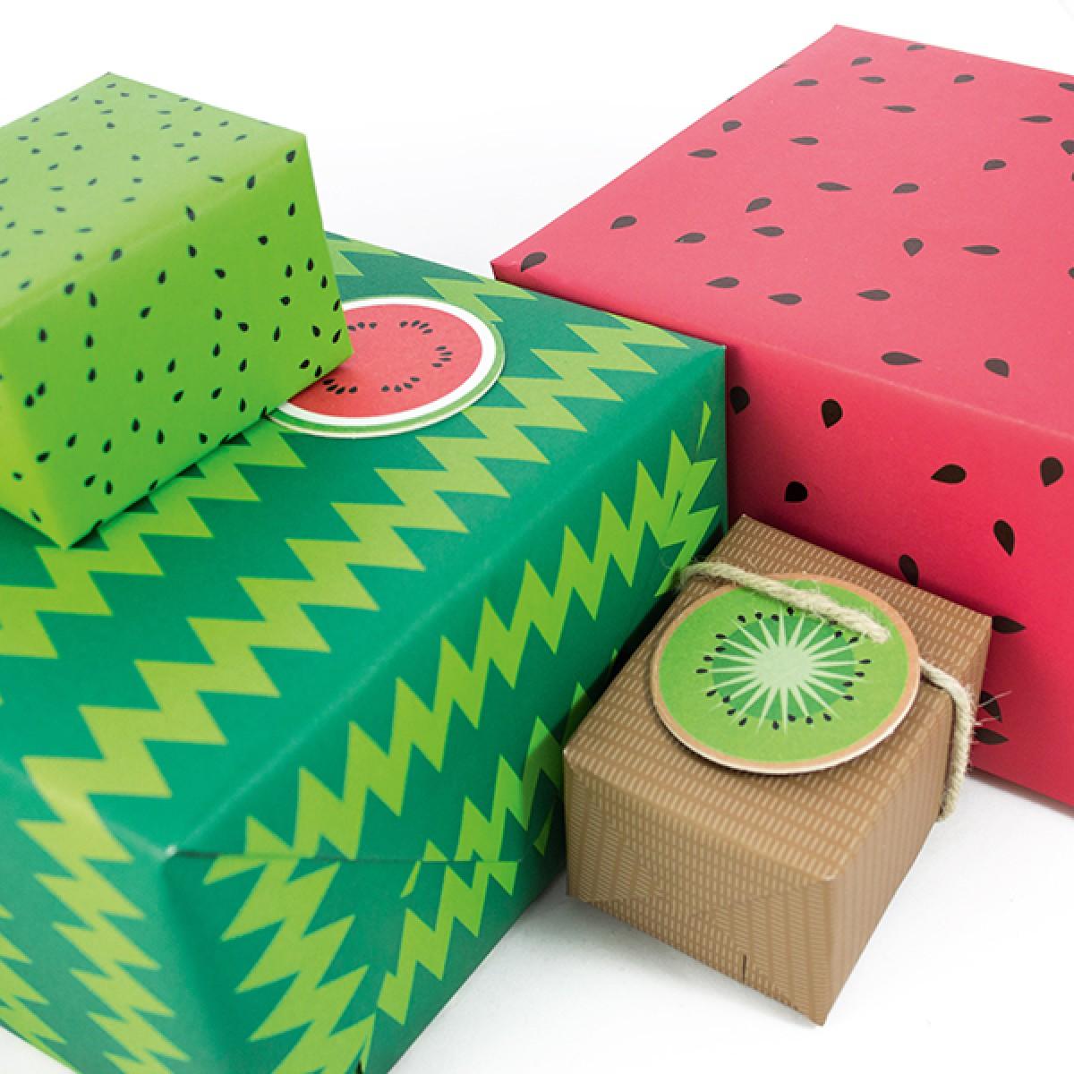 Freche Früchte Geschenkverpackungs-Set