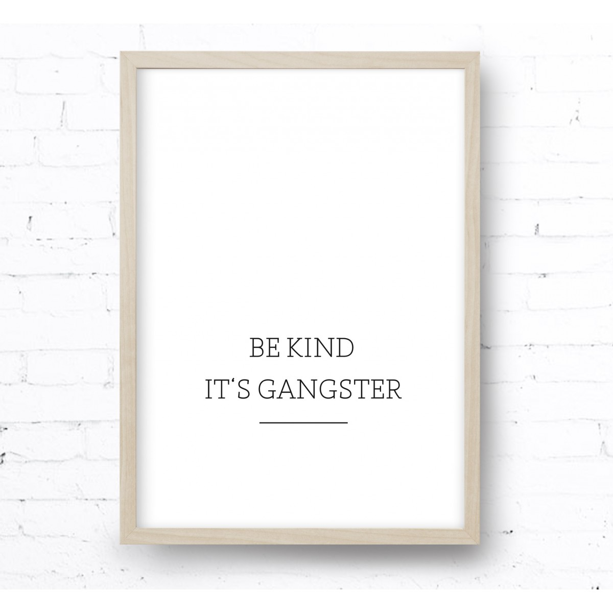 Kruth Design POSTER / GANGSTER