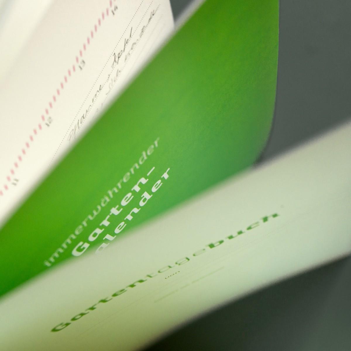 Gartentagebuch, immerwährender Kalender, Gartenchronik und Notizbuch für Hobbygärtner