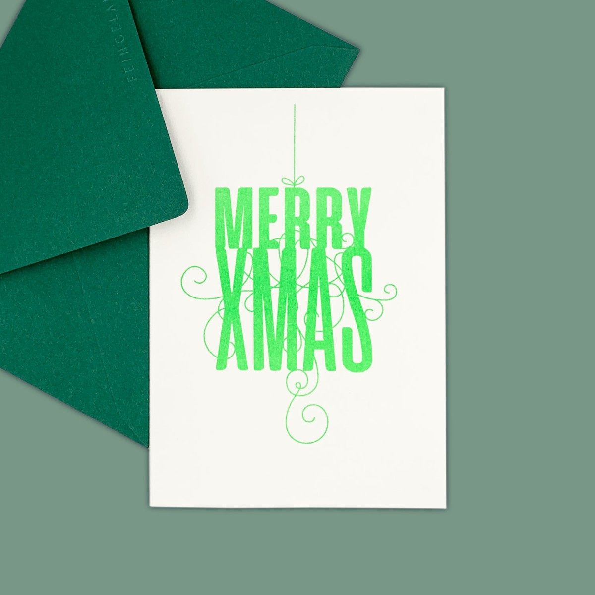 Feingeladen // FANCY TYPE // Merry Xmas (FG) – A6