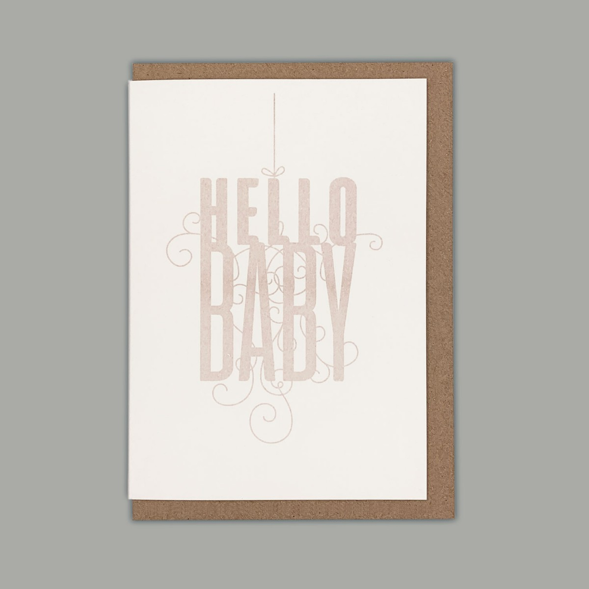 Feingeladen // FANCY TYPE // Hello Baby (BQ) – A6
