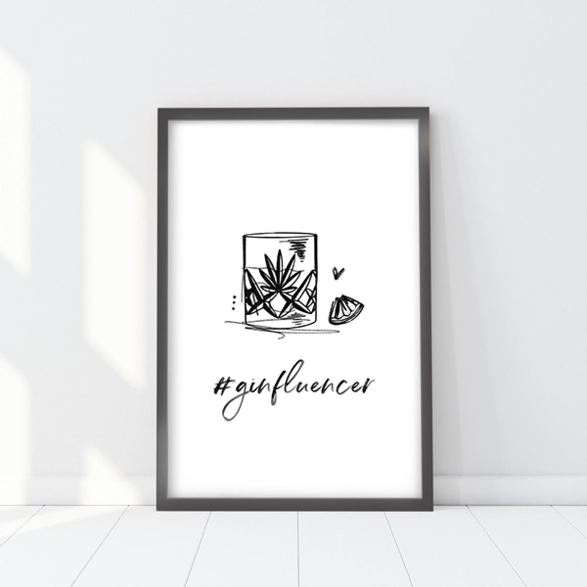 Kruth Design POSTER / GINFLUENCER