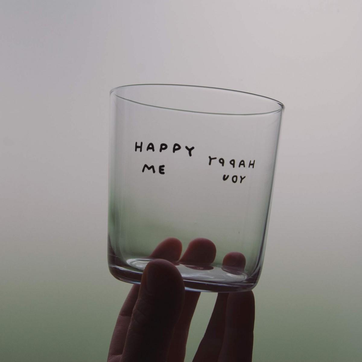 HAPPY YOU / HAPPY ME Glas – Johanna Schwarzer