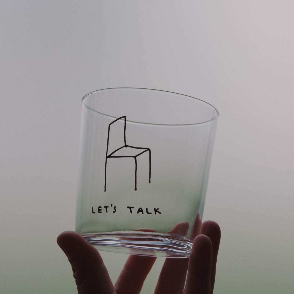 LET'S TALK Glas – Johanna Schwarzer