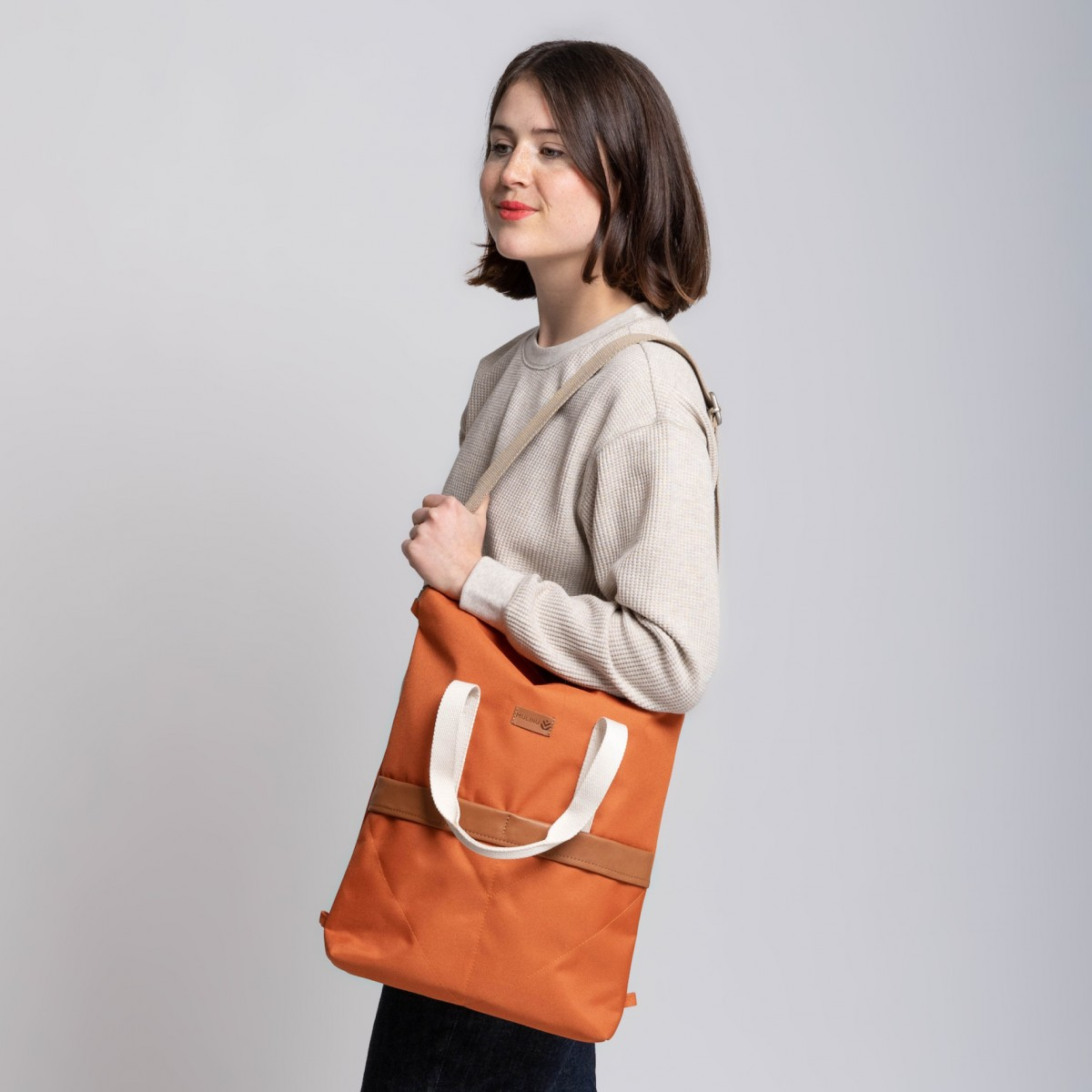 MULINU 3-in-1 Rucksack UNIQUE GRETA Terracotta
